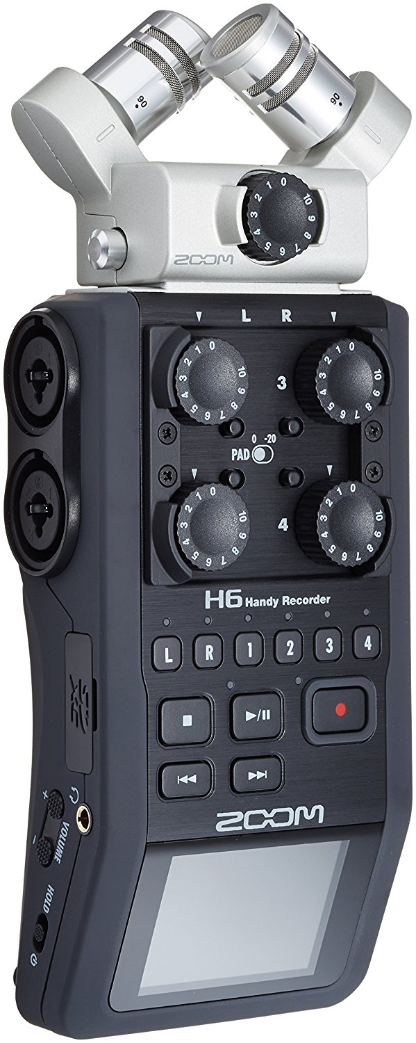 Zoom H6 Audio Recorder   Douglas E. Welch Gift Guide 2016 #23
