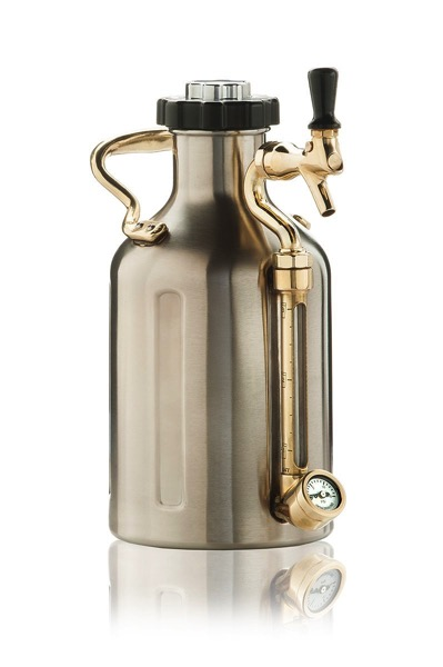 uKeg 64 Pressurized Growler for Craft Beer | Douglas E. Welch Gift Guide #40