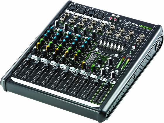 Mackie PROFX8V2 8-Channel Compact Mixer with USB and Effects   Douglas E. Welch Gift Guide #31