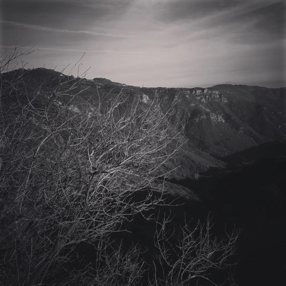 Santa Monica Mountains in Winter [Photo]
