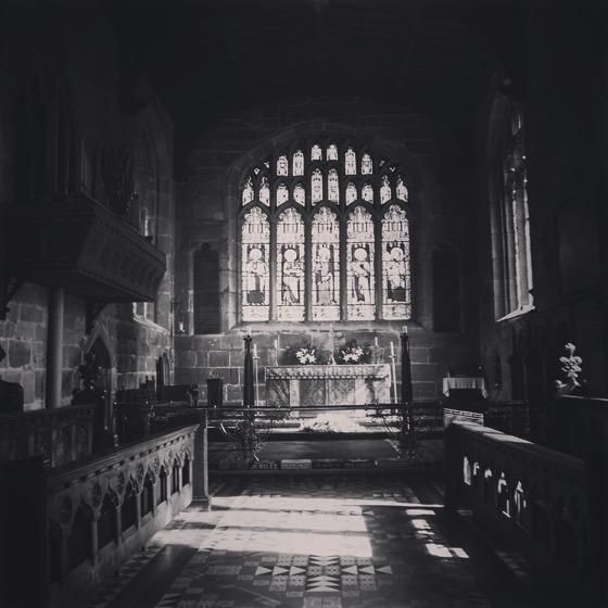 St. Mary's Church Interior, Thirsk, Yorkshire, UK [Photo]