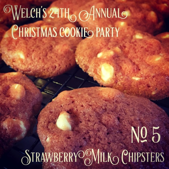 No. 5 Strawberry Milk Chipsters | Welch's 24th Annual Christmas Cookie Party