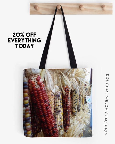 Autumn Corn Tote Bags and Much More!