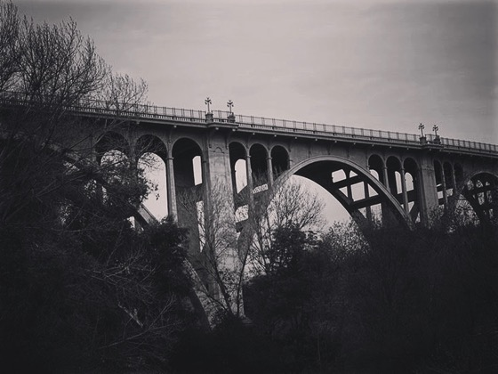 Colorado Street Bridge, Pasadena, California [Photo]