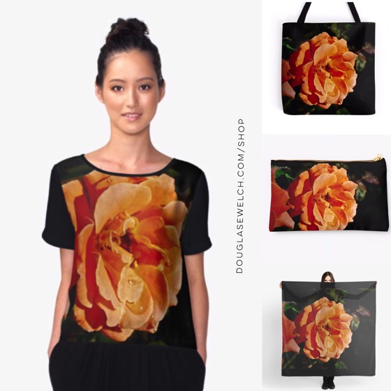 Coral Rose Tops, Scarves, Bags and Much More!