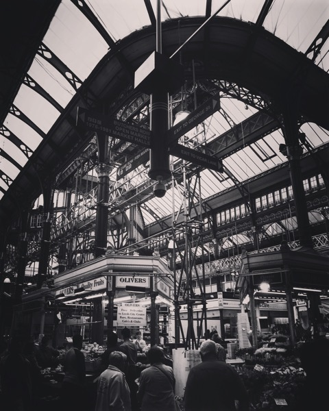 Leeds City Market, Leeds, UK [Photo]