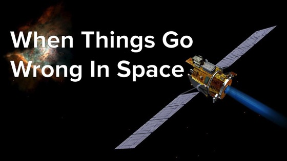On YouTube: Steve Collins: When Things Go Wrong In Space