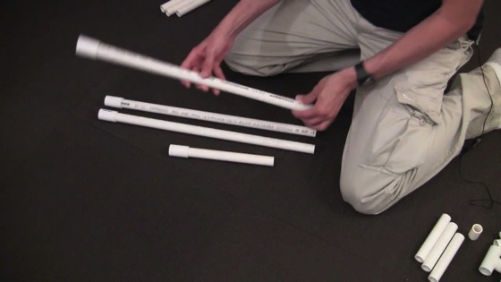 On YouTube: Make a PVC Light Stand for Under $5