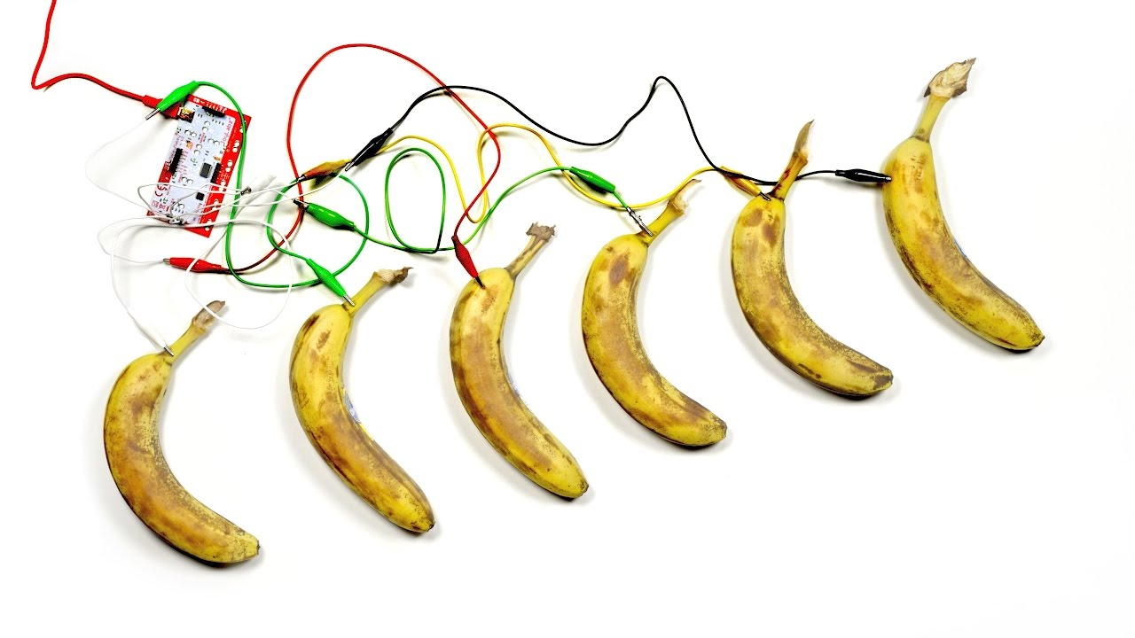 On YouTube: Makey-Makey: You've Never Seen Bananas Do This…