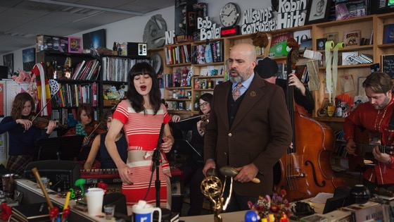 On YouTube: Miramar: NPR Music Tiny Desk Concert