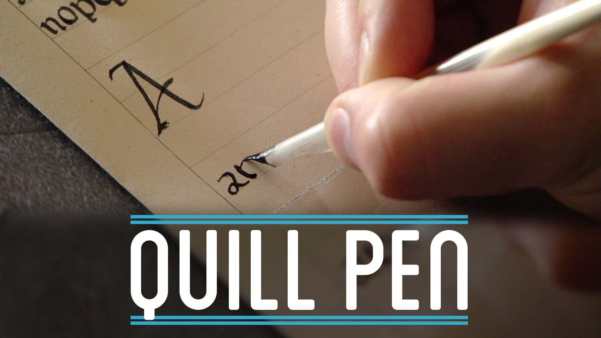 On YouTube: Quill Pen | How to Make Everything: Book