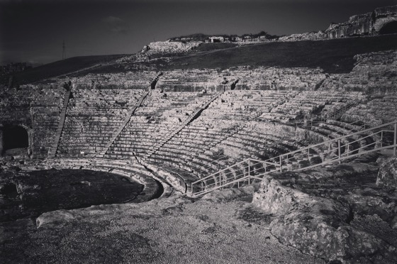 Greek Theater, Siracusa, Sicily, Italy