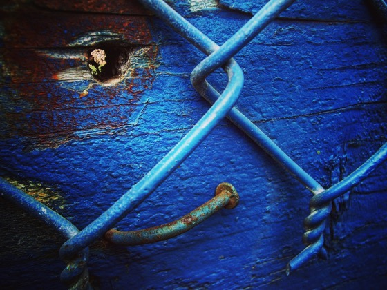 Blue Decay