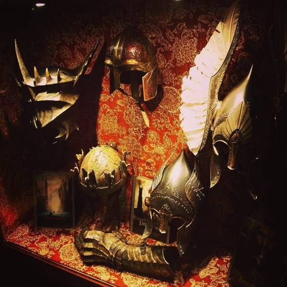 Lord of the Rings Armor Display via Instagram
