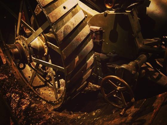 WWI Artillery Piece, Life-size Diorama, The Great War Exhibition, Wellington, New Zealand via Instagram