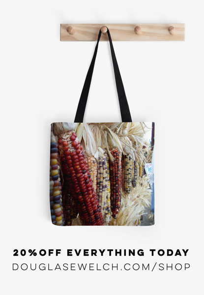 20% Off Everything Today Including these Harvest Time Totes and much more!