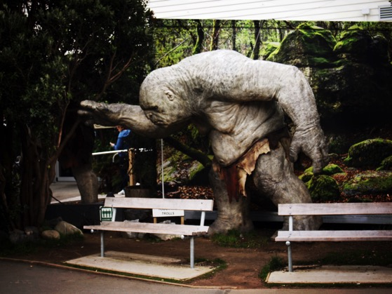 Weta Cave has a bit of a troll problem via Instagram