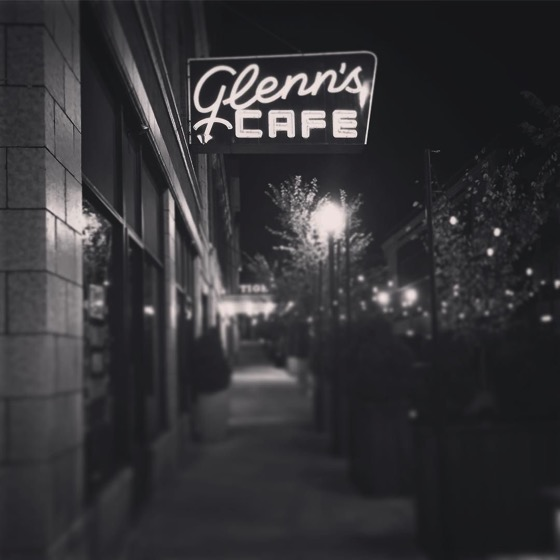 Outside Glenn's Cafe, Columbia, Missouri via Instagram