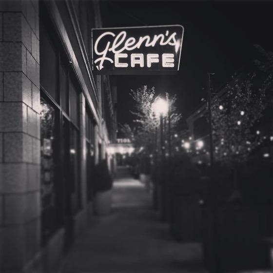 Outside Glenn's Cafe, Columbia, Missouri via Instagram