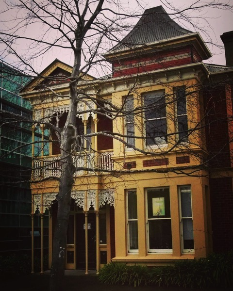 """Painted Lady"" Victorian is Now University of Otago department offices via Instagram"