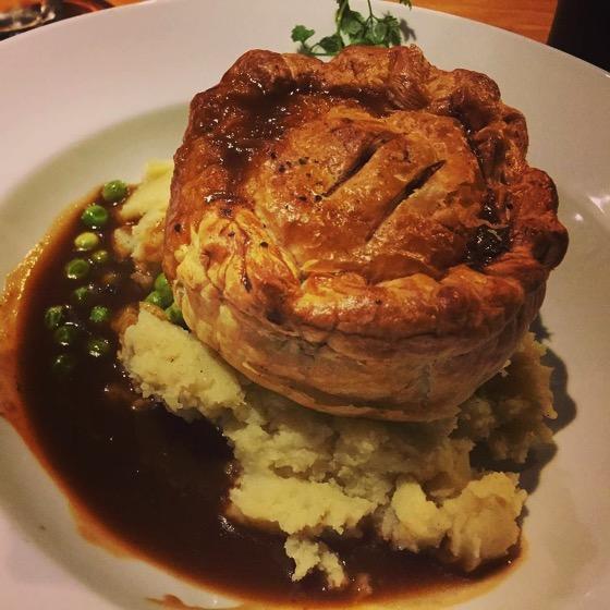 Steak and Ale Pie, Eureka Cafe, Dunedin, New Zealand via Instagram