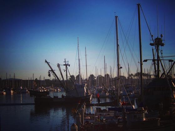Fishing boat in Ventura Harbor via Instagram