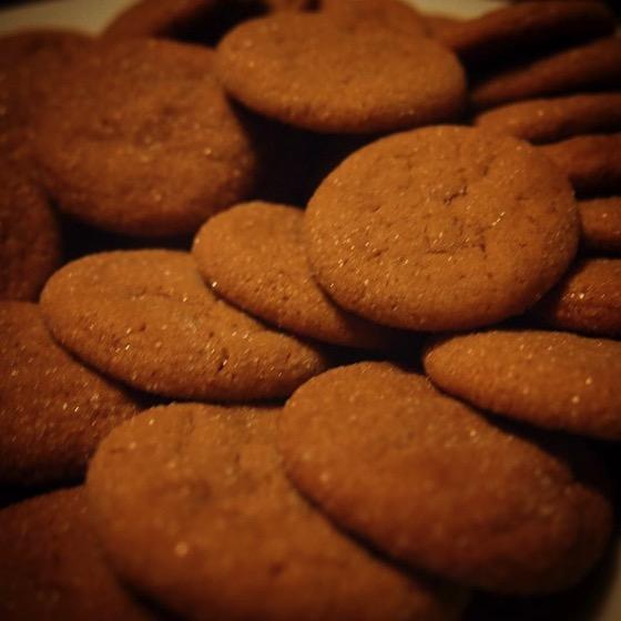 Soft Ginger Cookies via Instagram