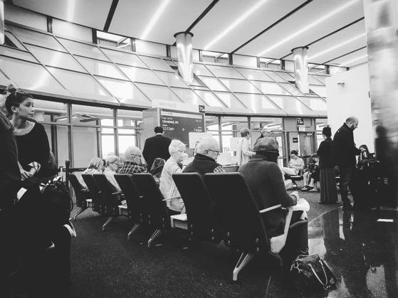 My Los Angeles 34 – Waiting on a plane… via Instagram