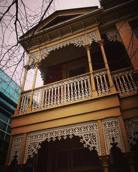 Victorian Architecture now used as offices and student housing via Instagram