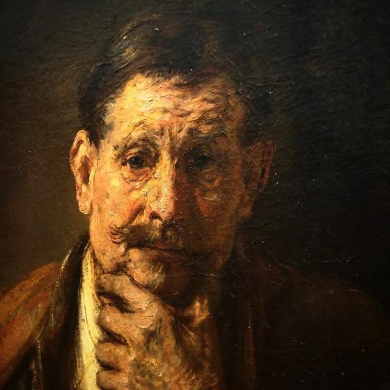 Rembrandt Detail, Getty Center via Instagram