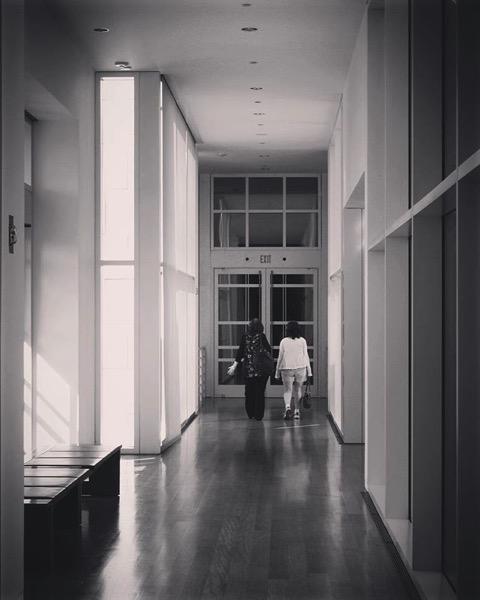 Strolling the Getty Center via Instagram