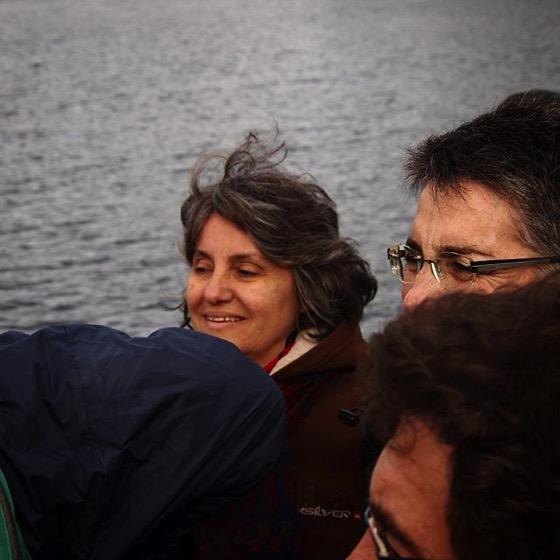 Rosanne Welch (@drrosannewelch) onboard The Monarch, Otago Harbor, Dunedin, New Zealand via My Instagram