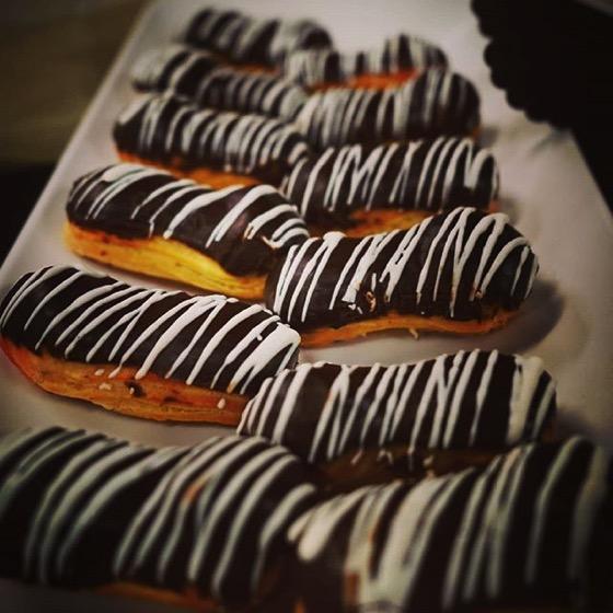 Chocolate Eclairs via My Instagram