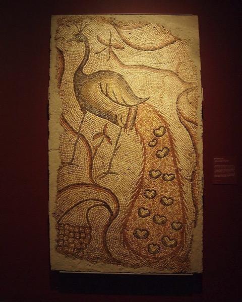 Roman Mosaic at the Getty Villa via My Instagram