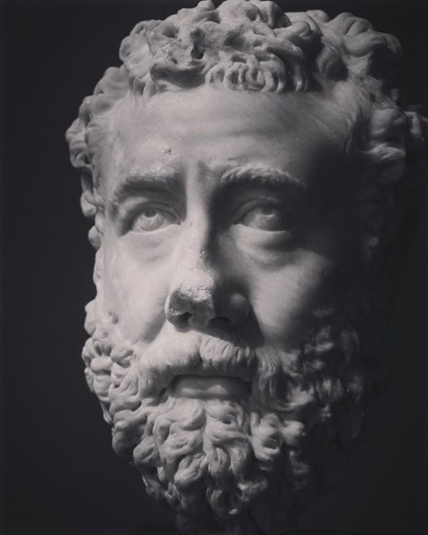Marble Sculpture Detail, Getty Villa via My Instagram