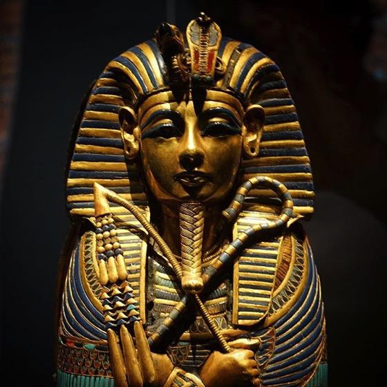 King Tut: Treasures of the Golden Pharaoh Detail via My Instagram