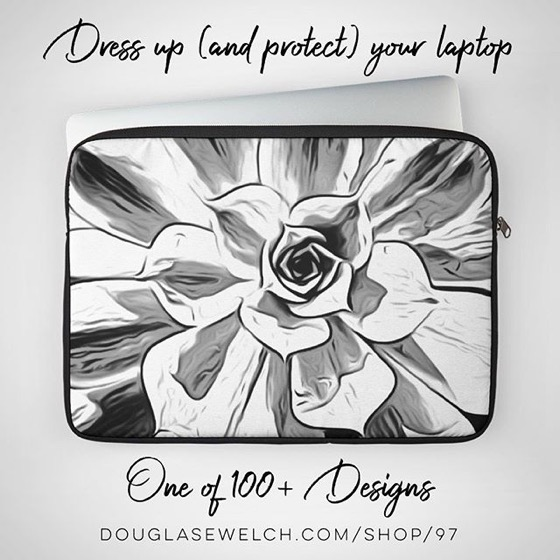 Dress up (and protect) your laptop with these Succulent Cases and over 100+ Designs