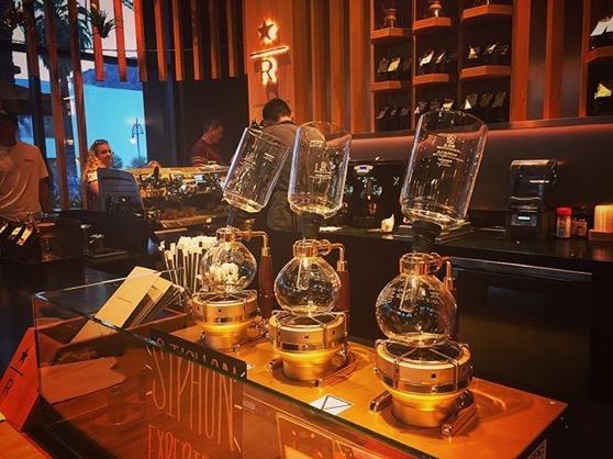 Starbucks Reserve in Palm Springs via My Instagram