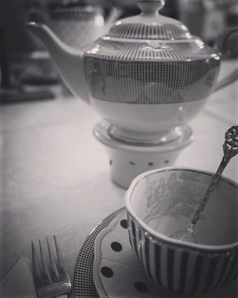 Tea Time at Amanda's, Palm Desert, California via My Instagram