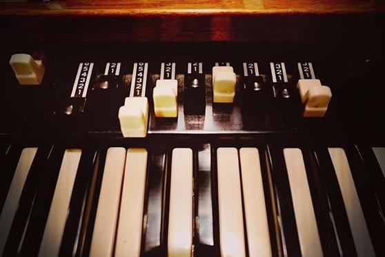 Hammond B3 Organ via My Instagram