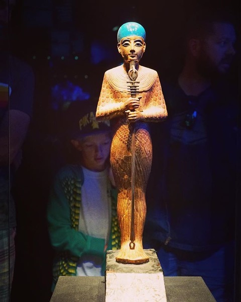 Figure of the god Ptah — Follow Me On Instagram!