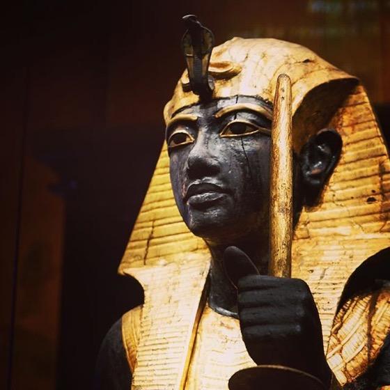 Guardian Ka statue (#22) of the king Closeup — Follow Me On Instagram!