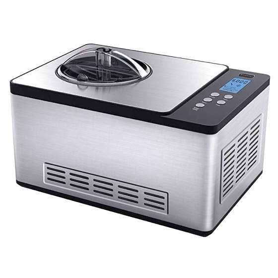 In The Kitchen: Whynter ICM-200LS Stainless Steel Ice Cream Maker, 2.1-Quart