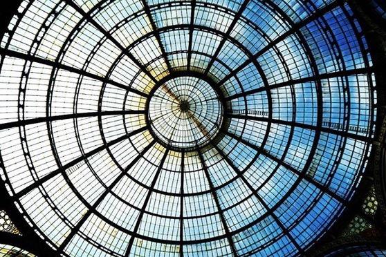 Glass Roof, Galleria Vittorio Emanuele II in Milano via Instagram