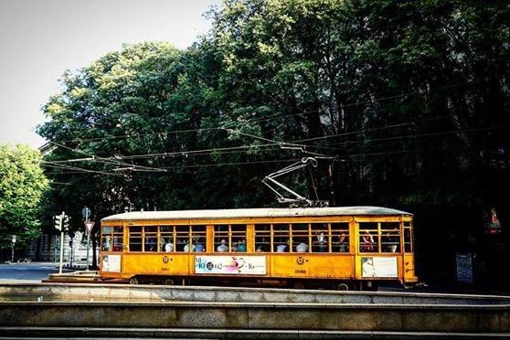 Milano Tram – I love them! via Instagram