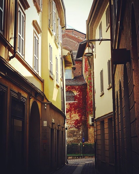 Along the streets of Monza, Italy via Instagram