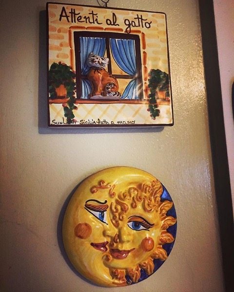 A small piece of Sicily in our California Home via Instagram