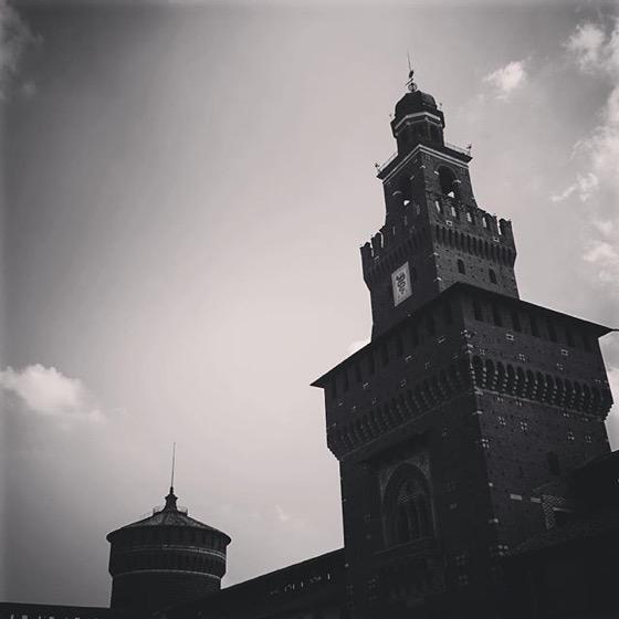 Castello Sforzesco, Milano, Italy via Instagram