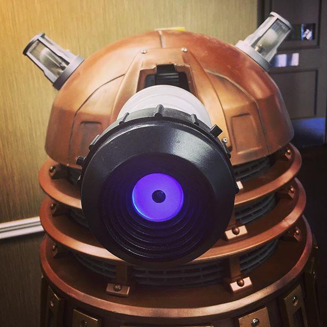 Dalek Invasion at WhoCon, San Diego via Instagram