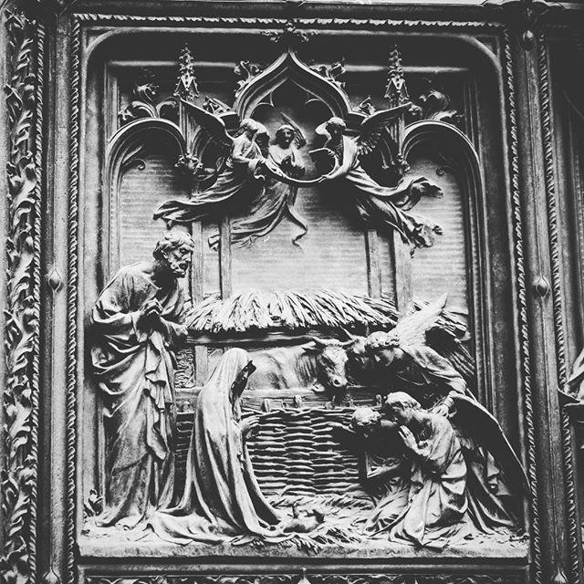 Detail, Bronze Doors, Duomo di Milano, Milano, Italyvia Instagram
